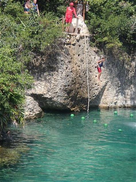 cliff jumping picture of xel ha, riviera maya tripadvisor