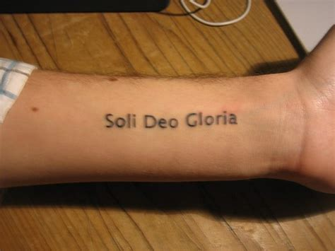 soli deo gloria tattoo great tattoos pictures tattooimages biz