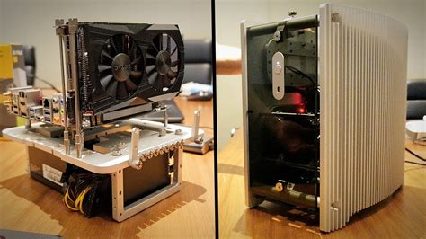 micro atx test bench streacom s passively cooled micro atx case cutest mini