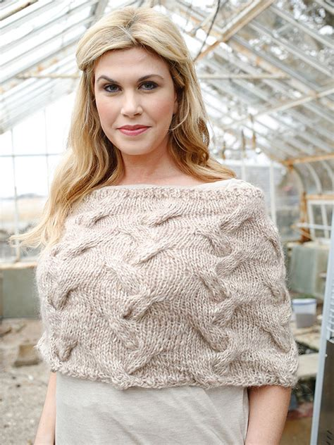 capelet knitting patterns knud capelet knitting pattern knitting bee
