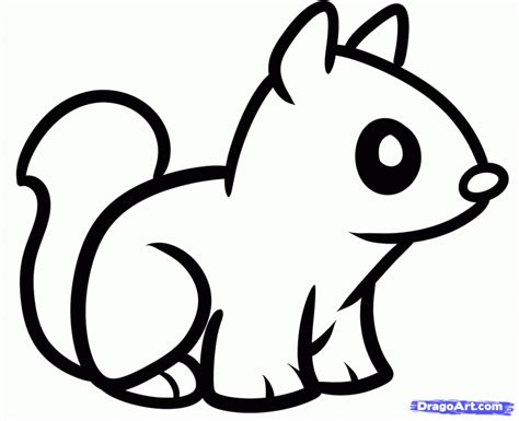 easy baby coloring pages cute baby animals drawings pencil art drawing