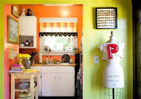 orange and yellow kitchen and home daisies butter mellow