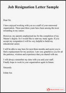 Resignation Letter Sle With Reason Better Opportunity 7 Resignation Letter Sle With Reason Better Opportunity Resign Letter