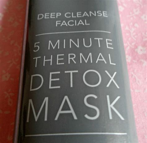 Sanctuary Spa 5 Minute Thermal Detox Mask by Jade Review Sanctuary Spa 5 Minute Thermal Detox