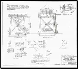 lookout tower plans backcountry historic structures report lookouts