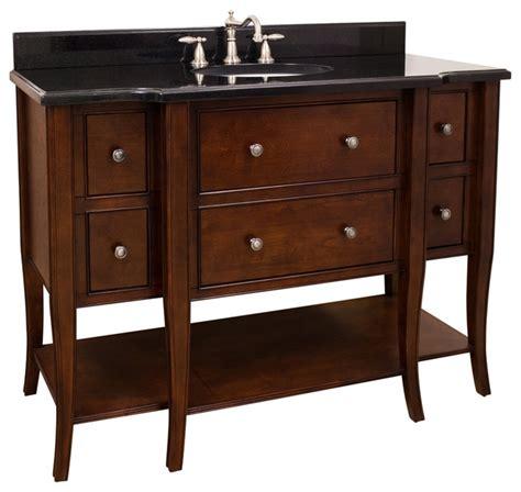 Vanity Philadelphia by Lyn Design Van080 48 Wood Vanity Traditional Bathroom