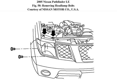 2003 nissan frontier headlight embly diagram nissan auto