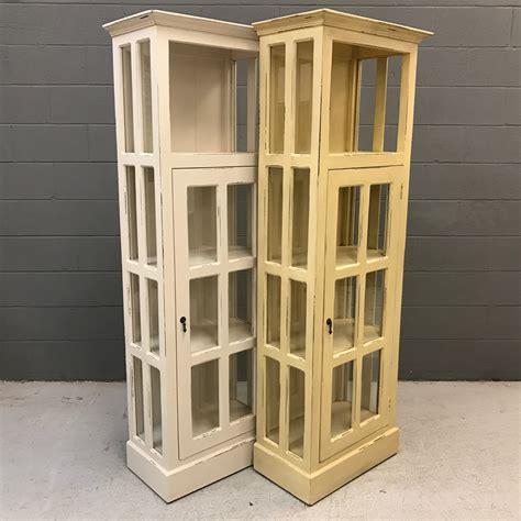 narrow cabinet with doors narrow cabinet with glass door nadeau nashville