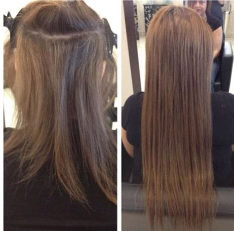 hairstyles with extensions before and after 1000 images about hair extensions before and after on