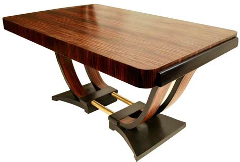 deco dining room table omero home