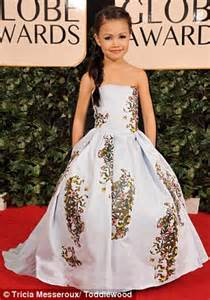 adorable kids recreate a listers golden globes looks