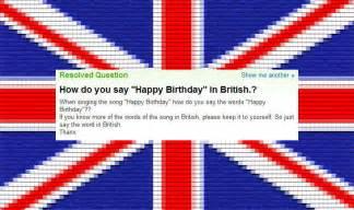 british people don t speak english
