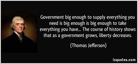 History Of Enough For Government Work Government Big Enough To Supply Everything You Need Is Big