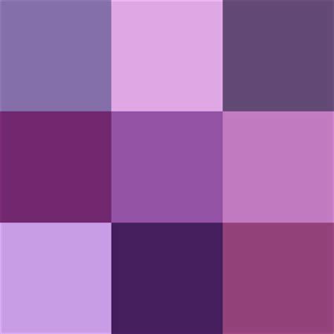 different color purples color me lovely purple