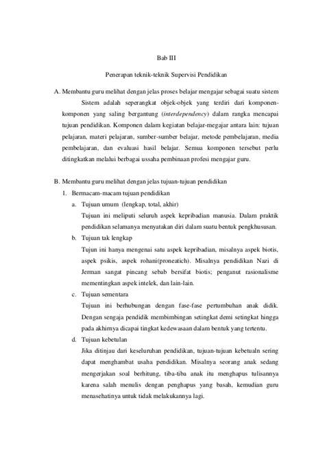 Supervisi Pembelajaran Dalam Profesi Pendidikan Syaiful Sagala prinsip dan teknik supervisi pendidikan