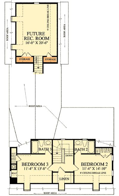 cape cod 2nd floor plans cape cod with open floor plan 32514wp architectural