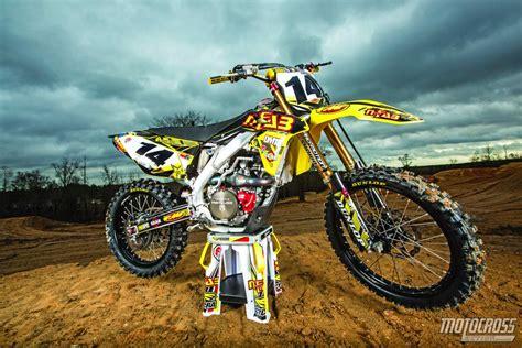 Suzuki Rm 450 by Motocross Magazine We Ride Davi Millsaps Never