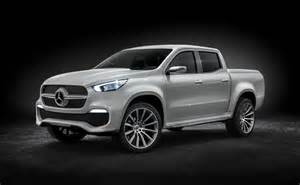 mercedes x class up concept revealed will be