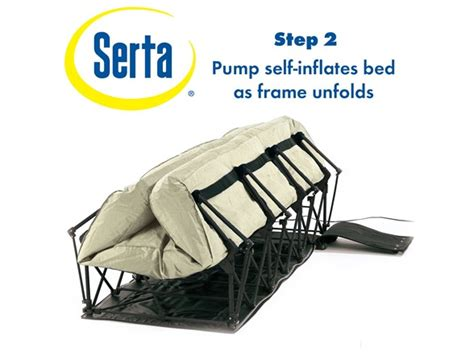 ez bed queen serta ez bed queen with never flat pump sellout woot