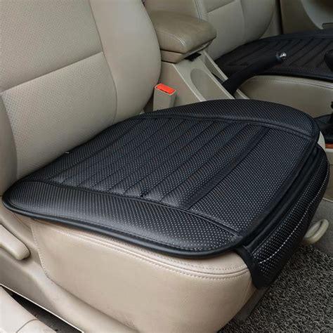 car seat blanket cover size pu leather car seat cover four seasons anti slip mat car