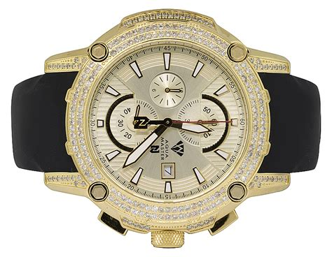 Jam Gucci 2051her aqua master yellow gold plated limited edition nicky jam nj5 5 0ct ebay