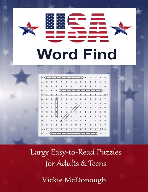 Find Usa Search Heroes Heroines And History The History Of Word Puzzles