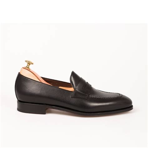 Handmade Loafers For - handmade black shoes leather shoes dress