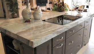 Distressed Black Kitchen Island fantasy brown granite design ideas