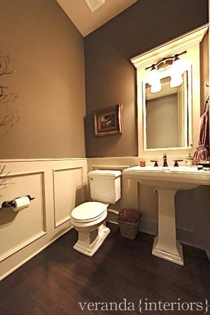 tan bathroom ideas powder room