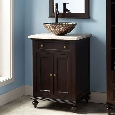 bathroom vanity with vessel sink best 25 vessel sink vanity ideas on small