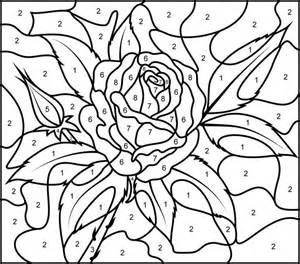 printable color by number 33 best images about color by numbers coloring pages on