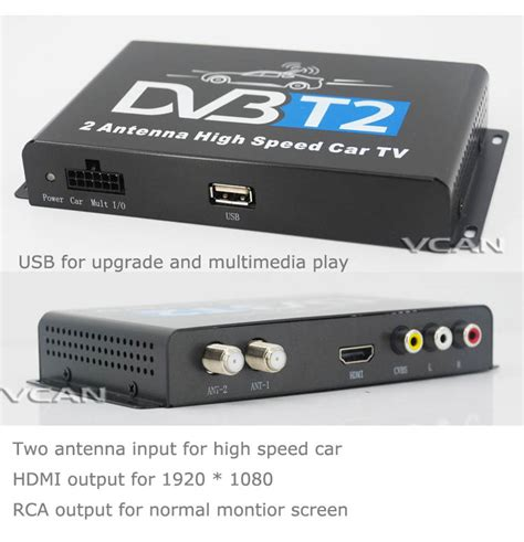 Tv Tuner Hdmi dvb t2h car dvb t2 dvb t usb hdmi hdtv tuner 2 active antenna high speed from china