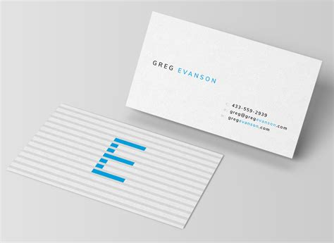 modern business card templates  business cards