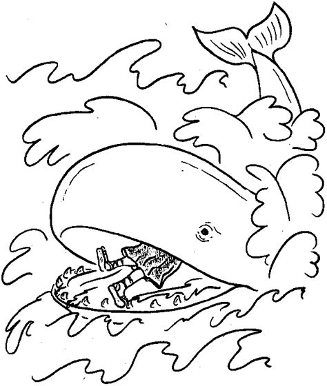 Bible Coloring Pages Jonah Printable Bible Story Coloring Pages