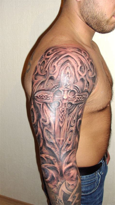 celtic knot cross tattoo celtic cross by osska83 on deviantart