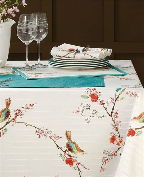 lenox table linens chirp collection lenox