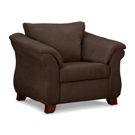 adrian chocolate chair  city furniture