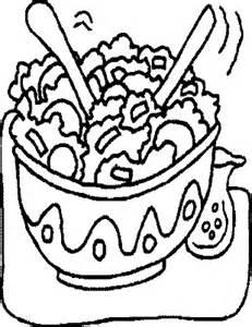 Onae Coloring /education/food/vegetables/salad sketch template