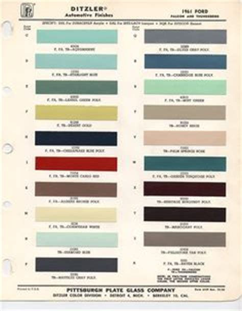 paint charts on auto paint paint chips and chips