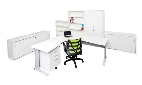 Rapid White Corner Office Desk Workstation Office Stock White Corner Workstation Desk