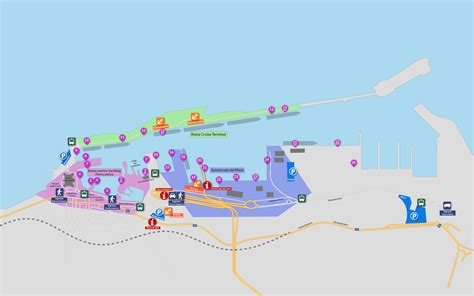 via porto civitavecchia map of the port of civitavecchia port mobility civitavecchia