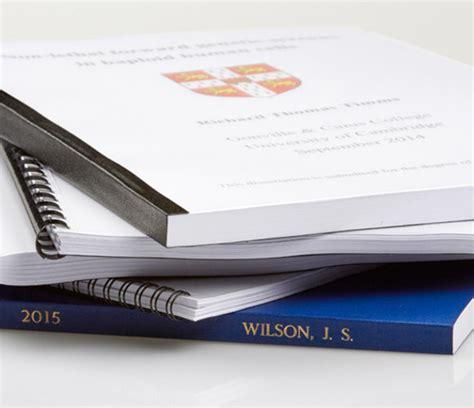 dissertation binding bristol thesis binding price