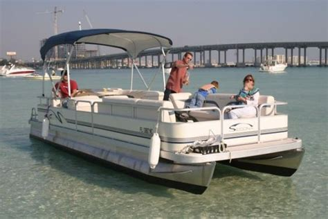 boat rental nearby pontoon boat rental near the destin bridge we can party