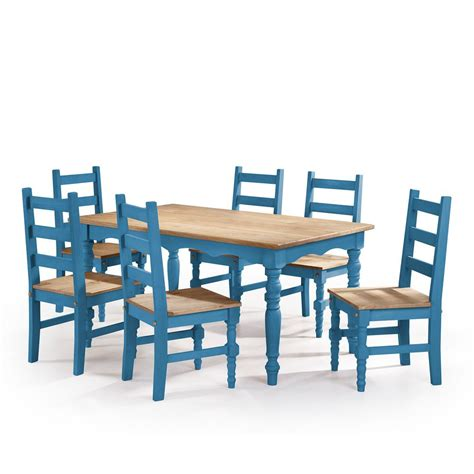 blue dining room furniture 5pc modern dining set furniture dining room set blue