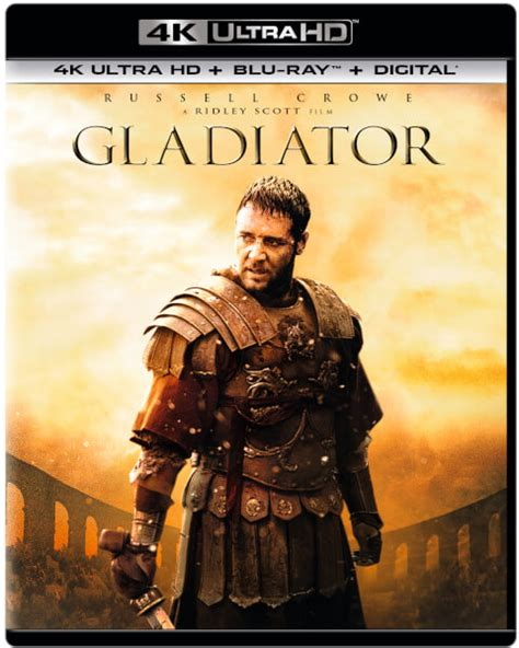 film gladiator streaming hd gladiator 4k ultra hd blu ray fr zavvi