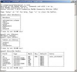 Mysql Show Tables Php Mysql Y Acceso A Una Base De Datos Introducci 243 N Al