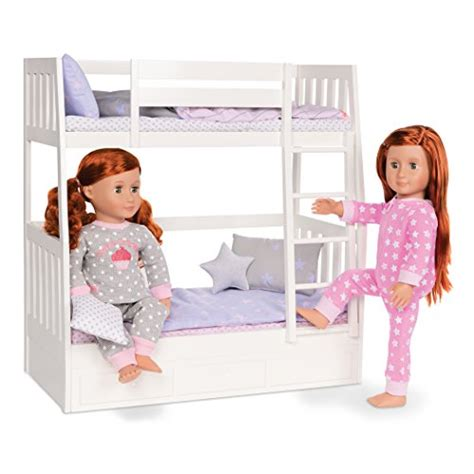 our generation doll bed girls bunk beds our generation dolls dream bunk bed set