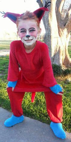 diy fox in socks costume fox in socks dr suess costumes foxes