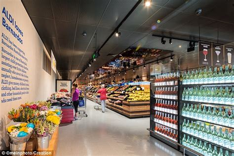 inside the posh new aldi stores with in store bakeries