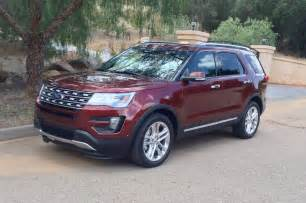 Ford Explorere 2016 Ford Explorer By The Numbers